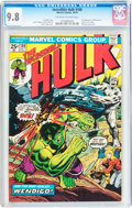 Bronze Age (1970-1979):Superhero, The Incredible Hulk #180 (Marvel, 1974) CGC NM/MT 9.8 Off-white towhite pages....