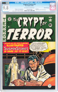 Golden Age (1938-1955):Horror, Crypt of Terror #19 Gaines File pedigree 5/11 (EC, 1950) CGC NM/MT9.8 Off-white to white pages....
