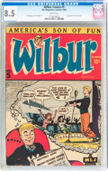 Golden Age (1938-1955):Humor, Wilbur Comics #5 (Archie, 1945) CGC VF+ 8.5 White pages....