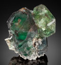 Minerals:Miniature, FLUORITE. Davib East Farm 61, Karibib District, Erongo Region,Namibia. ...