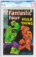 Bronze Age (1970-1979):Superhero, Fantastic Four #112 (Marvel, 1971) CGC NM/MT 9.8 White pages....