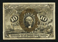 Fractional Currency:Second Issue, Fr. 1249 10¢ Second Issue Extremely Fine-About New.. ...