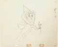 Animation Art:Production Drawing, Sleeping Beauty Flora Animation Drawing (Walt Disney,1959)....