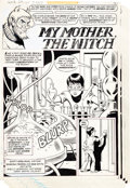 """Original Comic Art:Complete Story, Ramona Fradon and Bob Smith House of Mystery #273 Complete 5-Page Story """"My Mother the Witch"""" Original Art... (Total: 5 Original Art)"""
