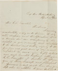 Autographs:Military Figures, Confederate General Bryan Grimes Autograph Letter Signed with Two Related Documents....