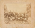 Photography:Cabinet Photos, Robert E. Lee and Other Important Confederate Generals Photographat White Sulphur Springs, West Virginia,...