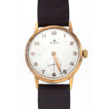 Timepieces:Wristwatch, Rolex 18k Pink Gold Manual Wind Wristwatch. ...