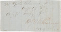 Autographs:Military Figures, Confederate General Patrick Cleburne Clipped Endorsement Signed....