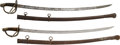 Military & Patriotic:Civil War, Two Imported Model 1840 Cavalry Sabers.... (Total: 2 Items)