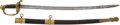 Edged Weapons:Swords, Civil War Period German-Made Non-Regulation Officers' Sword....