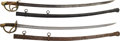 Military & Patriotic:Civil War, Two Imported Model 1840 Cavalry Sabers... (Total: 2 Items)