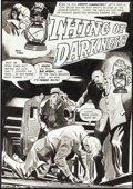 """Original Comic Art:Complete Story, Gene Colan Creepy #10 Complete 8 Page Story """"Thing of Darkness"""" Original Art (Warren, 1966).... (Total: 8 Items)"""