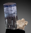 Minerals:Thumbnail, INDICOLITE. Laghman Province, Afghanistan. . ...