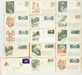 Miscellaneous:Ephemera, Group of Thirty-Six Philatelic First Day and Commemorative Covers.1962-1975. ...