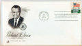 Miscellaneous:Ephemera, [Richard Nixon]. Group of Ten Inaugural Philatelic First DayCovers. Each with cancellation stamp from Washington, D. C. and...