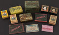 Baseball Cards:Unopened Packs/Display Boxes, Vintage Multi-Brand Tobacco Box, Coupons and Tins Collection (12)....