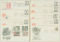 Miscellaneous:Ephemera, Group of Nine Postal Service Themed Philatelic First Day Covers.1971-1974. ...