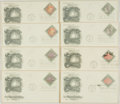 Miscellaneous:Ephemera, Group of Eight Mineral Heritage Series Philatelic First Day Covers.Each with cancellation stamp from Lincoln, NE and dated ...