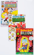 Bronze Age (1970-1979):Cartoon Character, Richie Rich Billions File Copies Group (Harvey, 1974-82) Condition:Average NM-.... (Total: 2 Box Lots)