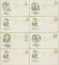 Miscellaneous:Ephemera, [Richard Nixon]. Group of Eight Presidential Philatelic First DayCovers. 1969-1973. ...