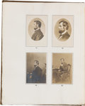 Photography:CDVs, The Photographs of Abraham Lincoln. Frederick Hill Meserve....