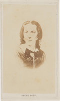 Photography:CDVs, Confederate Spy Belle Boyd Carte de Visite....