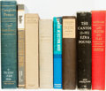 Books:Literature Pre-1900, [Literature]. Group of Eight Poetry Books. Various publishers anddates.... (Total: 8 Items)