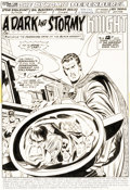 Original Comic Art:Splash Pages, Sal Buscema and Frank Bolle Defenders #11 Page 1 Iron Man and Captain America Original Art (Marvel, 1973)....