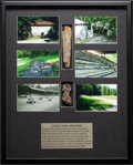Miscellaneous Collectibles:General, 2006 Jungle Park Speedway Photographic & Artifacts Display....