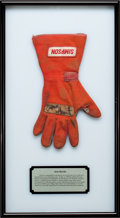 Miscellaneous Collectibles:General, 1998 Jack Hewitt Race Worn Signed Glove. ...