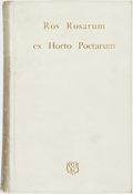 "Books:Literature Pre-1900, ""E.V.B."" [Eleanor Vere Boyle]. Ros Rosarum Ex Horto Poetarum.London: Elliot Stock, 1885...."
