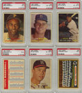 Baseball Cards:Sets, 1957 Topps Baseball Complete Set (412). This is the first Toppsissue to feature full color photographs with a nice mix of a...