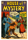 Golden Age (1938-1955):Horror, House of Mystery #4 (DC, 1952) Condition: VG/FN....