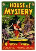 Golden Age (1938-1955):Horror, House of Mystery #5 (DC, 1952) Condition: GD/VG....