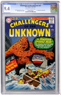 Silver Age (1956-1969):Adventure, Challengers of the Unknown #47 (DC, 1966) CGC NM 9.4 Off-white to white pages....