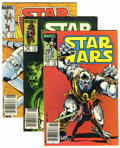 Modern Age (1980-Present):Science Fiction, Star Wars and Others Group (Marvel, 1976-87) Condition: AverageNM+.... (Total: 14 Comic Books)