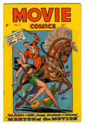 Golden Age (1938-1955):Miscellaneous, Movie Comics #4 (Fiction House, 1947) Condition: VF-....