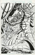 Original Comic Art:Splash Pages, Paul Ryan and Mark Pennington - Iron Man #36, Splash page 17Original Art (Marvel, 2001). ...