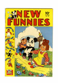 Golden Age (1938-1955):Funny Animal, New Funnies #68 File Copy (Dell, 1942) Condition: VF-....