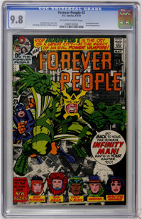 The Forever People #2 (DC, 1971) CGC NM/MT 9.8 Off-white to white pages