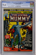 Bronze Age (1970-1979):Horror, Supernatural Thrillers #5 The Living Mummy (Marvel, 1973) CGC NM+9.6 Off-white to white pages....