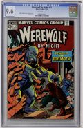 Bronze Age (1970-1979):Horror, Werewolf by Night #17 (Marvel, 1974) CGC NM+ 9.6 Off-whitepages....