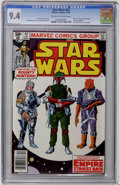 Modern Age (1980-Present):Science Fiction, Star Wars #42 (Marvel, 1980) CGC NM 9.4 Off-white to whitepages....