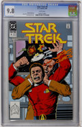 Modern Age (1980-Present):Science Fiction, Star Trek #9 (DC, 1990) CGC NM/MT 9.8 White pages....