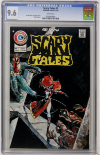 Scary Tales #1 (Charlton, 1975) CGC NM+ 9.6 White pages