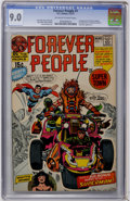 Bronze Age (1970-1979):Superhero, The Forever People #1 (DC, 1971) CGC VF/NM 9.0 Off-white to white pages....