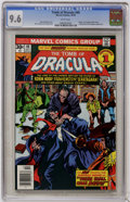 Bronze Age (1970-1979):Horror, Tomb of Dracula #49 (Marvel, 1976) CGC NM+ 9.6 White pages....
