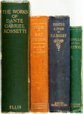 Books:Literature Pre-1900, Group of Four Books of Poetry. Various publishers and dates.... (Total: 4 Items)