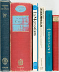 Books:Literature Pre-1900, [Sir Alfred, Lord Tennyson]. Group of Six Books Related toTennyson. Various publishers and dates.... (Total: 6 Items)
