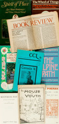 Books:Literature Pre-1900, [Literature/Biography/Literary Magazines]. Group of Eight BooksRelated to L. M. Montgomery [and:] The Atlantic Province...(Total: 8 Items)